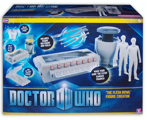 Doctor Who FLESH BOWL FIGURE CREATOR - Series 6 - Character Options