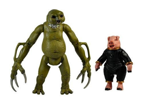Doctor Who New Series - SLITHEEN & SPACE PIG - Series 1 Action Figure - Character Options
