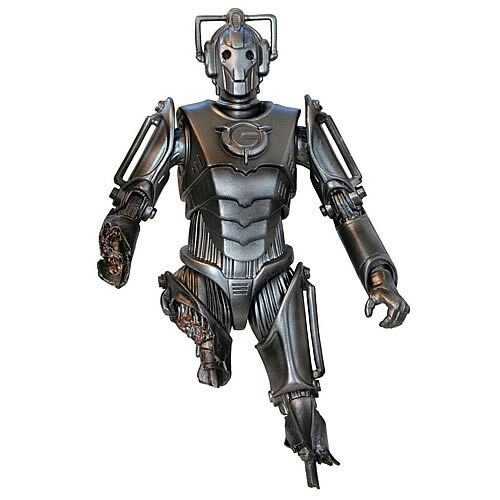 Doctor Who: DAMAGED CYBERMAN - Series 2 - Character Options - SDCC Exclusive