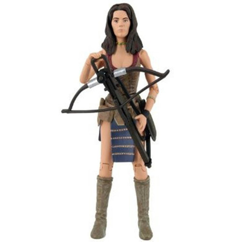 """Doctor Who: LEELA """"Face of Evil"""" - Classic Series Action Figure - Character Options"""