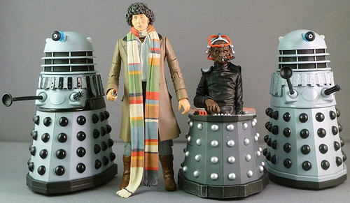 Destiny of the Daleks set - Classic Series Action Figure Set - Character Options