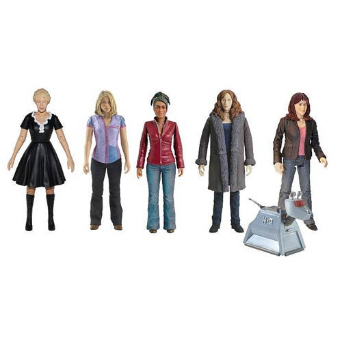 Doctor Who: THE COMPANIONS Collector Set - Includes 6 Action Figures - from Character Options