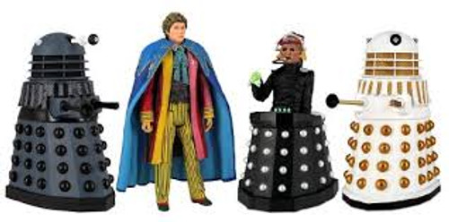 Doctor Who: REVELATION OF THE DALEKS - Classic Series Action Figure Set - Character Options