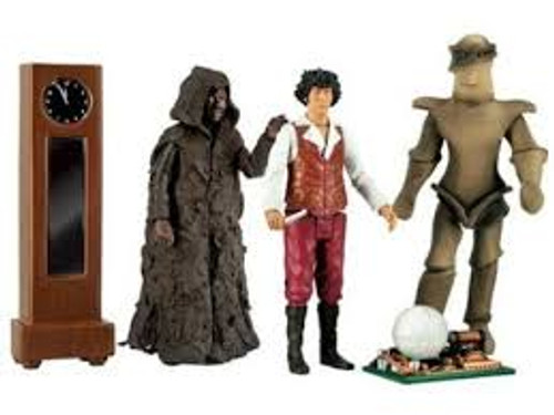 Doctor Who: The KEEPER of TRAKEN Action Figure Collector's set - Classic Series - Character Options