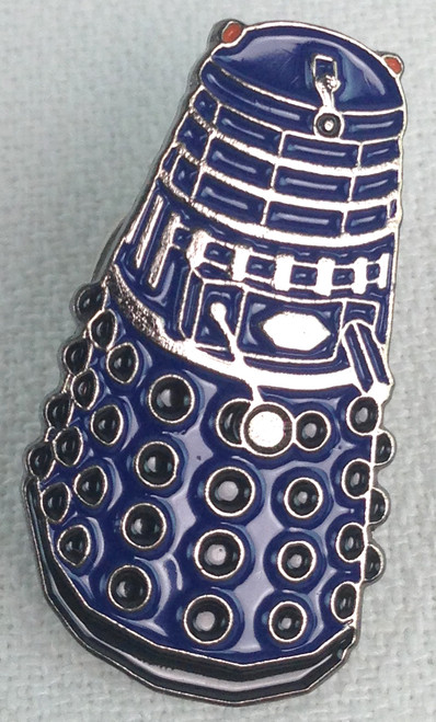 Doctor Who UK Imported Lapel Pin - BLUE DALEK