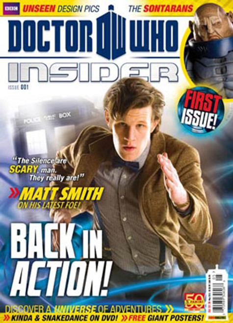 Doctor Who Insider Magazine Issue #1