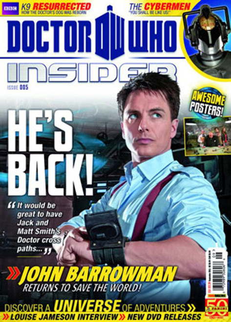 Doctor Who Insider Magazine Issue #5