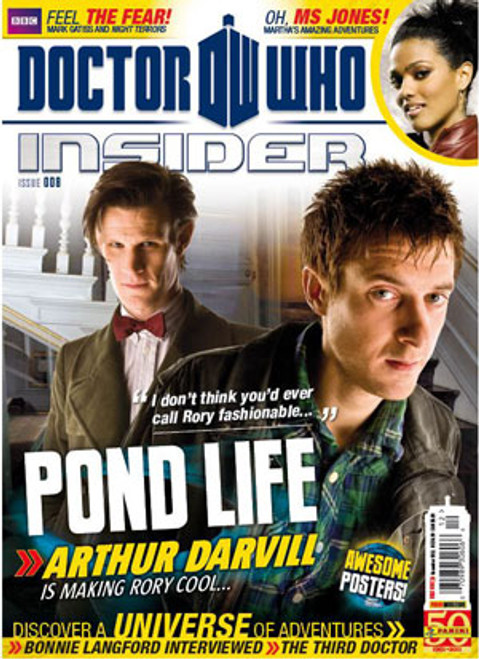 Doctor Who Insider Magazine Issue #8