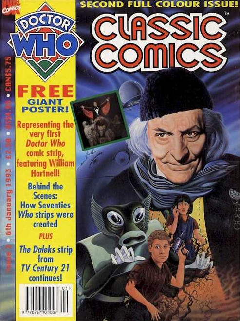 Doctor Who Classic Comics Issue #2 by Marvel (Magazine sized)
