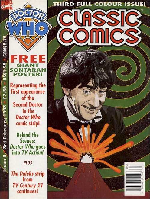 Doctor Who Classic Comics Issue #3 by Marvel (Magazine sized)