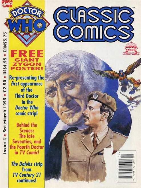 Doctor Who Classic Comics Issue #4 by Marvel (Magazine sized)