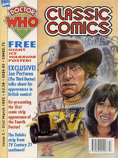 Doctor Who Classic Comics Issue #5 by Marvel (Magazine sized)