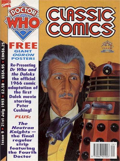 Doctor Who Classic Comics Issue #9 by Marvel (Magazine sized)