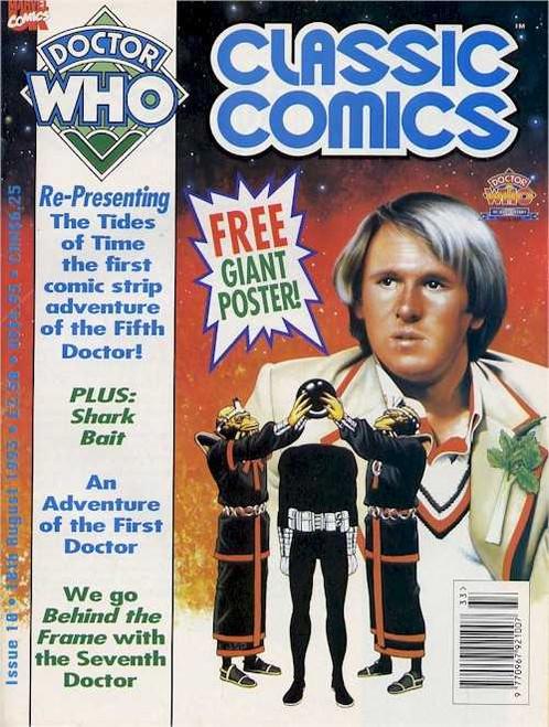 Doctor Who Classic Comics #10