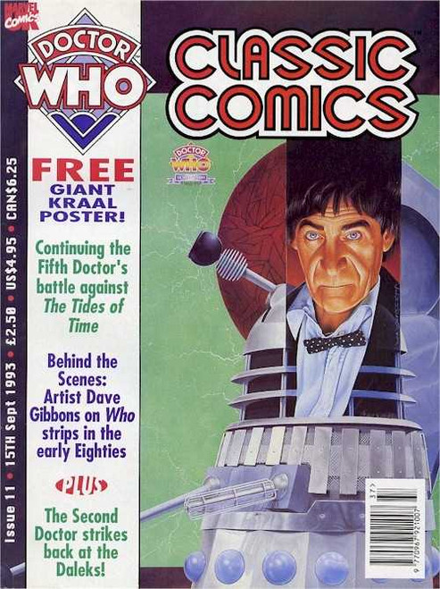 Doctor Who Classic Comics Issue #11 by Marvel (Magazine sized)