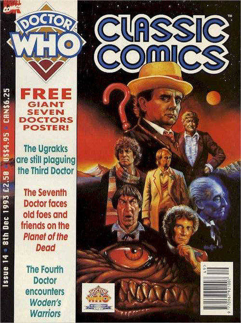 Doctor Who Classic Comics Issue #14 by Marvel (Magazine sized)