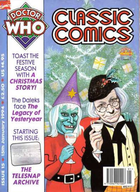 Doctor Who Classic Comics Issue #15 by Marvel (Magazine sized)