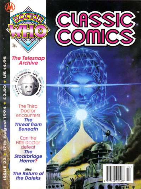 Doctor Who Classic Comics Issue #23 by Marvel (Magazine sized)