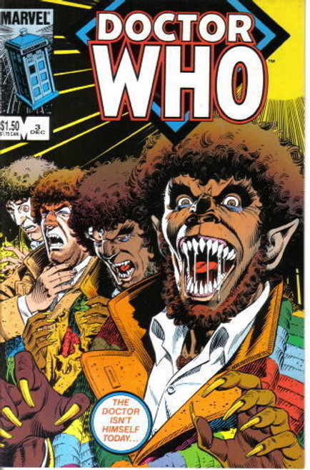 Doctor Who Marvel Comics #3