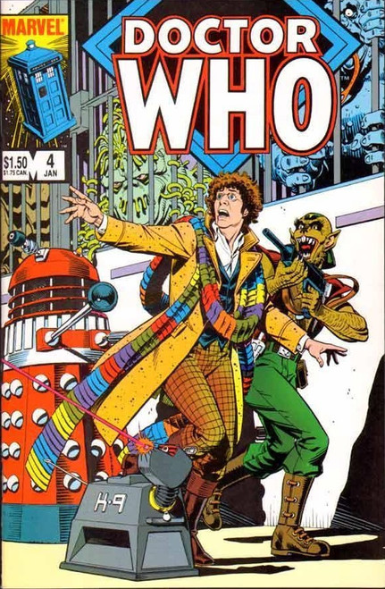 Doctor Who Marvel Comics #4