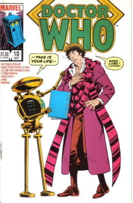 Doctor Who Marvel Comics #10