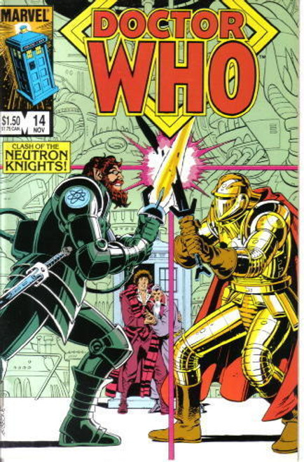 Doctor Who Marvel Comics #14