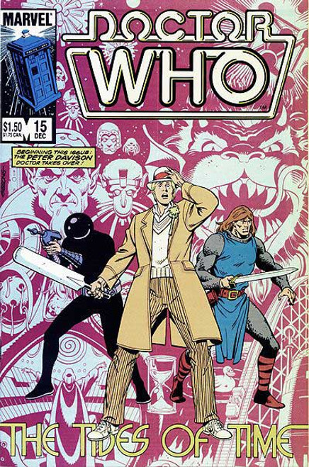 Doctor Who Marvel Comics #15