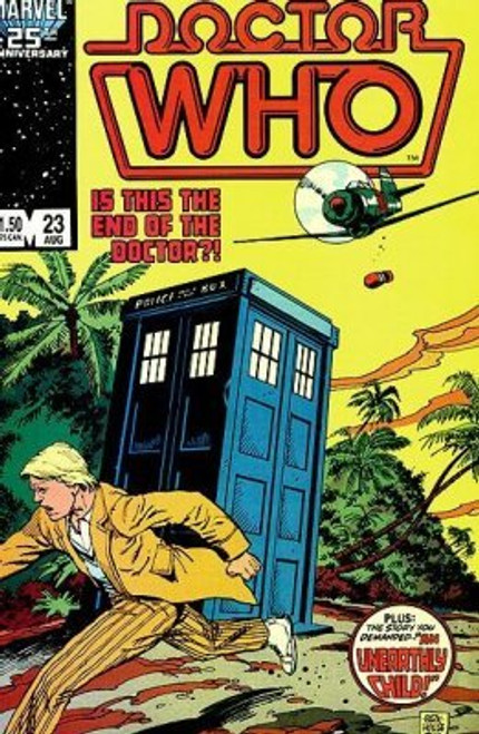 Doctor Who Marvel Comics #23