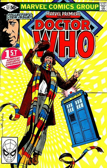 Doctor Who Marvel Premiere Comics #57 (First Doctor Who appearance in US Comics from 1980)