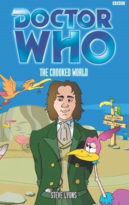 Doctor Who BBC Books - THE CROOKED WORLD - 8th Doctor