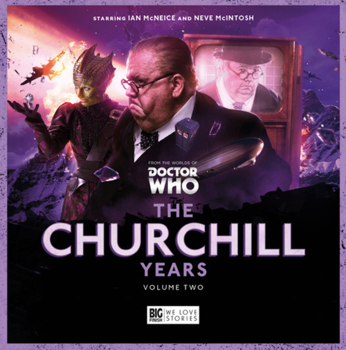 The Churchill Years Vol. 2 - Big Finish Audio CD Boxed Set Starring Ian McNeice