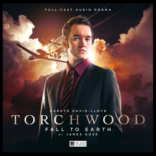 Torchwood #2: FALL TO EARTH - Big Finish Audio CD (Starring Gareth David-Lloyd)