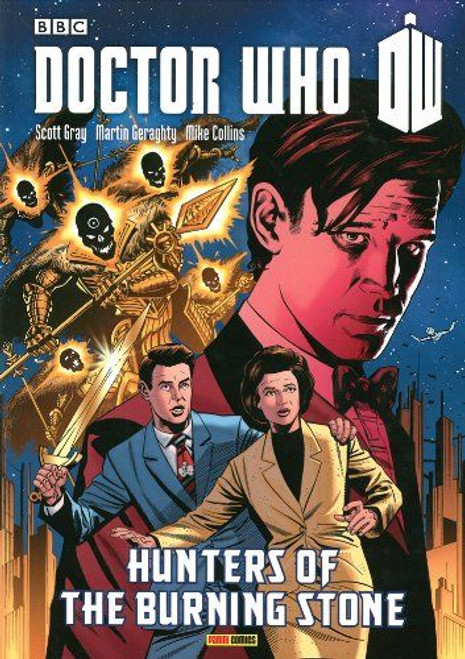 Doctor Who HUNTERS OF THE BURNING STONE - Graphic Novel - Panini Books