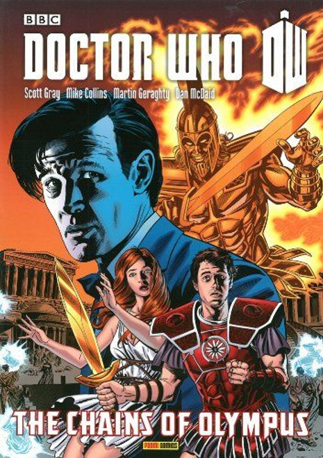 Doctor Who THE CHAINS OF OLYMPUS - Graphic Novel - Panini Books