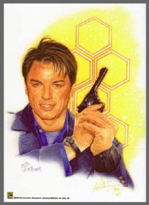 Torchwood Exclusive 2008 Comic Con Limited Print