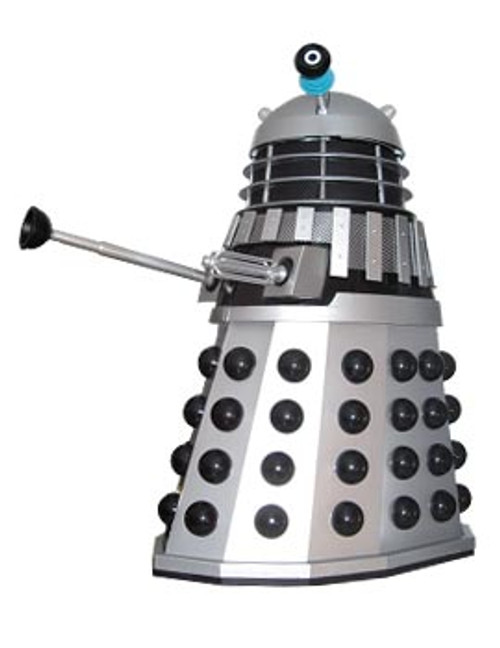Doctor Who Classic 12 Inch Tall Radio Controlled Dalek: Silver and Black (Death To The Daleks) - Product Enterprise (Please Read)