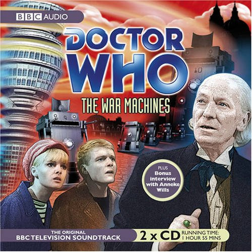 Doctor Who: The WAR MACHINES - Original BBC Television Soundtrack - Audio CD