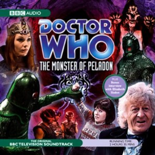 Doctor Who: The MONSTER OF PELADON - Original BBC Television Soundtrack - Audio CD