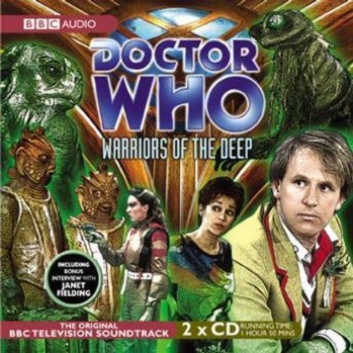 Doctor Who: WARRIORS OF THE DEEP - Original BBC Television Soundtrack - Audio CD