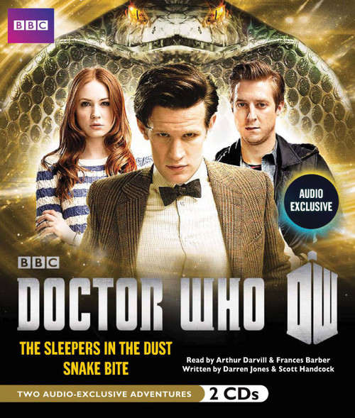 Doctor Who: THE SLEEPERS IN THE DUST and SNAKE BITE - BBC Audio Books on CD