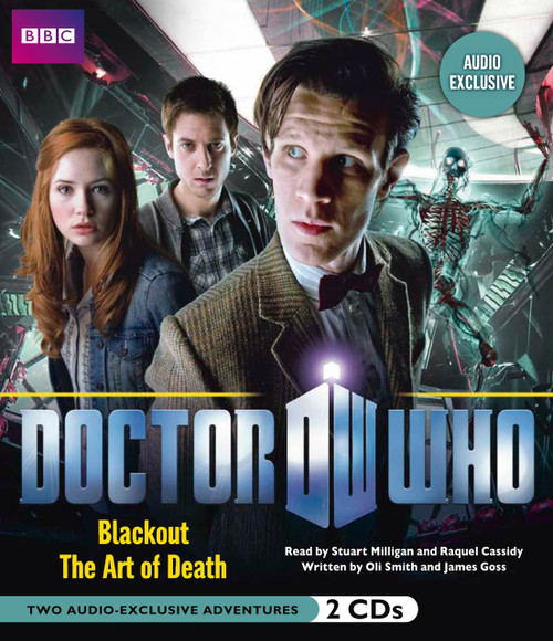 Doctor Who: BLACKOUT and THE ART OF DEATH - BBC Audio Books on CD