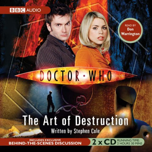 Doctor Who: ART OF DESTRUCTION - BBC Audio Book on CD read by Don Warrington