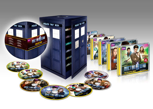 TARDIS Adventure Collection - Box Set - Six BBC Audios featuring the Eleventh Doctor