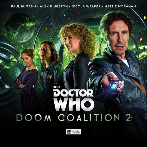 Doctor Who DOOM COALITION #2 Eighth Doctor (Paul McGann) Audio Drama Boxed Set  from Big Finish