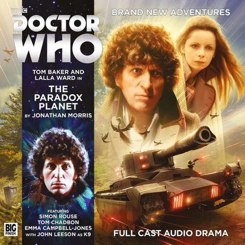 4th Doctor (Tom Baker) Stories: #5.3 The PARADOX PLANET -  A Big Finish Audio Drama on CD