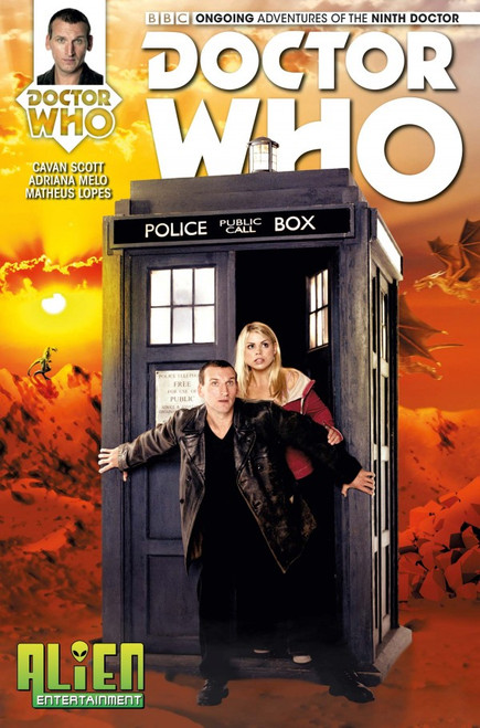Doctor Who: Titan Comics Ongoing Adventures of the 9th Doctor #1 - (Alien Entertainment EXCLUSIVE)