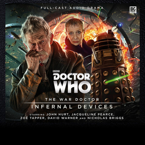 Doctor Who: The War Doctor (John Hurt) Vol. 2: INFERNAL DEVICES - Big Finish Audio Drama CD Boxed Set