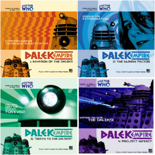 Dalek Empire: Series One Complete Set #1.1 to 1.4 - Big Finish Audio CDs