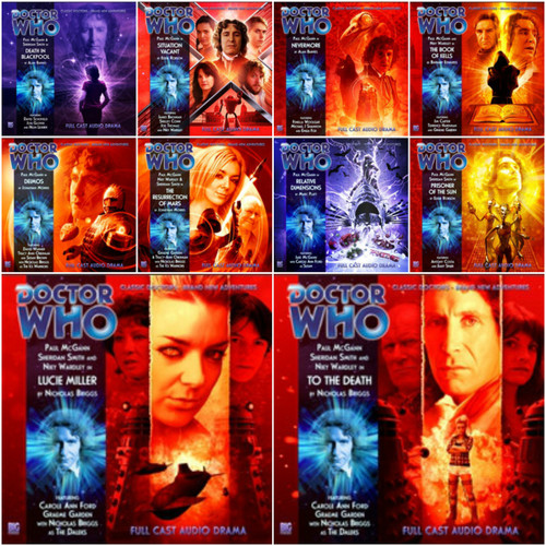 Doctor Who: Complete set of 8 Eighth Doctor Adventures Big Finish Audio CDs - SEASON 4