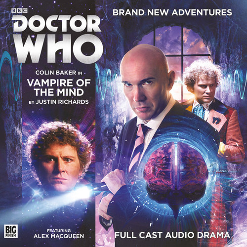 Doctor Who: VAMPIRE OF THE MIND - Big Finish 6th Doctor Audio CD #212